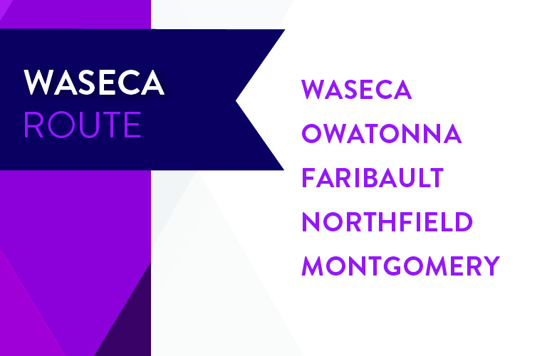 Waseca Route