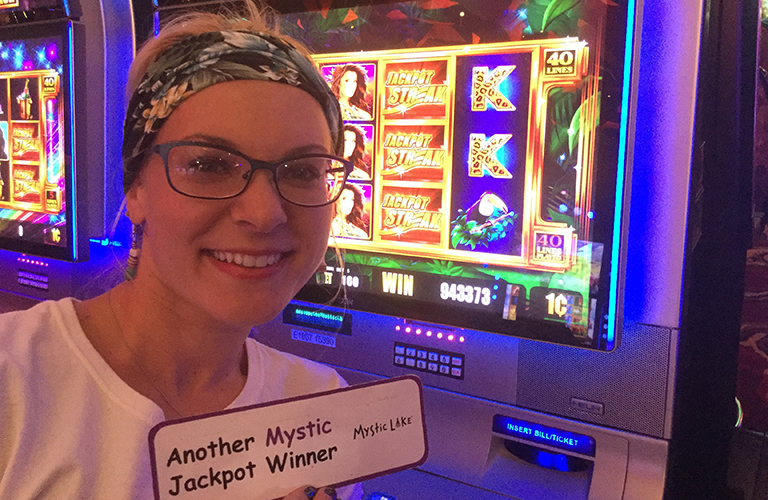 Ashley D Jackpot Winner
