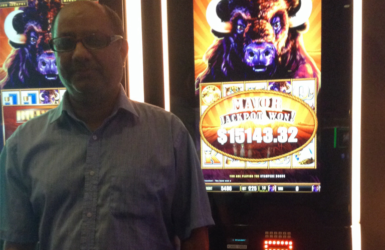 Sharath M - Jackpot Winner
